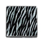SKIN3 BLACK MARBLE & ICE CRYSTALS (R) Memory Card Reader (Square)