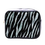 SKIN3 BLACK MARBLE & ICE CRYSTALS (R) Mini Toiletries Bags