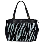 SKIN3 BLACK MARBLE & ICE CRYSTALS (R) Office Handbags (2 Sides)