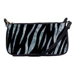 SKIN3 BLACK MARBLE & ICE CRYSTALS (R) Shoulder Clutch Bags