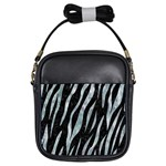 SKIN3 BLACK MARBLE & ICE CRYSTALS (R) Girls Sling Bags
