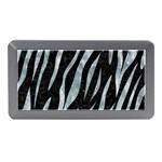 SKIN3 BLACK MARBLE & ICE CRYSTALS (R) Memory Card Reader (Mini)