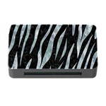 SKIN3 BLACK MARBLE & ICE CRYSTALS (R) Memory Card Reader with CF