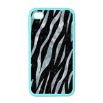 SKIN3 BLACK MARBLE & ICE CRYSTALS (R) Apple iPhone 4 Case (Color)