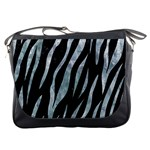 SKIN3 BLACK MARBLE & ICE CRYSTALS (R) Messenger Bags