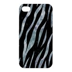 SKIN3 BLACK MARBLE & ICE CRYSTALS (R) Apple iPhone 4/4S Premium Hardshell Case