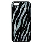 SKIN3 BLACK MARBLE & ICE CRYSTALS (R) Apple iPhone 5 Seamless Case (Black)