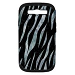 SKIN3 BLACK MARBLE & ICE CRYSTALS (R) Samsung Galaxy S III Hardshell Case (PC+Silicone)