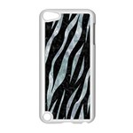 SKIN3 BLACK MARBLE & ICE CRYSTALS (R) Apple iPod Touch 5 Case (White)