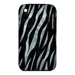 SKIN3 BLACK MARBLE & ICE CRYSTALS (R) iPhone 3S/3GS