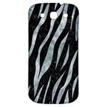 SKIN3 BLACK MARBLE & ICE CRYSTALS (R) Samsung Galaxy S3 S III Classic Hardshell Back Case
