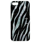 SKIN3 BLACK MARBLE & ICE CRYSTALS (R) Apple iPhone 5 Hardshell Case with Stand
