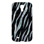SKIN3 BLACK MARBLE & ICE CRYSTALS (R) Samsung Galaxy S4 I9500/I9505 Hardshell Case
