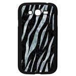 SKIN3 BLACK MARBLE & ICE CRYSTALS (R) Samsung Galaxy Grand DUOS I9082 Case (Black)