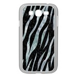 SKIN3 BLACK MARBLE & ICE CRYSTALS (R) Samsung Galaxy Grand DUOS I9082 Case (White)