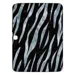 SKIN3 BLACK MARBLE & ICE CRYSTALS (R) Samsung Galaxy Tab 3 (10.1 ) P5200 Hardshell Case