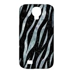 SKIN3 BLACK MARBLE & ICE CRYSTALS (R) Samsung Galaxy S4 Classic Hardshell Case (PC+Silicone)