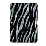 SKIN3 BLACK MARBLE & ICE CRYSTALS (R) Samsung Galaxy Tab 2 (10.1 ) P5100 Hardshell Case