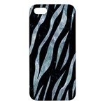 SKIN3 BLACK MARBLE & ICE CRYSTALS (R) iPhone 5S/ SE Premium Hardshell Case