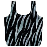 SKIN3 BLACK MARBLE & ICE CRYSTALS (R) Full Print Recycle Bags (L)