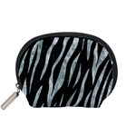 SKIN3 BLACK MARBLE & ICE CRYSTALS (R) Accessory Pouches (Small)