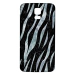 SKIN3 BLACK MARBLE & ICE CRYSTALS (R) Samsung Galaxy S5 Back Case (White)