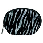SKIN3 BLACK MARBLE & ICE CRYSTALS (R) Accessory Pouches (Medium)