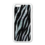 SKIN3 BLACK MARBLE & ICE CRYSTALS (R) Apple iPhone 6/6S White Enamel Case