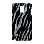 SKIN3 BLACK MARBLE & ICE CRYSTALS (R) Samsung Galaxy Note 4 Hardshell Case