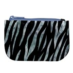 SKIN3 BLACK MARBLE & ICE CRYSTALS (R) Large Coin Purse