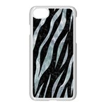 SKIN3 BLACK MARBLE & ICE CRYSTALS (R) Apple iPhone 7 Seamless Case (White)