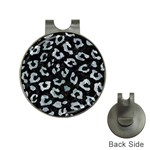 SKIN5 BLACK MARBLE & ICE CRYSTALS Hat Clips with Golf Markers