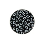 SKIN5 BLACK MARBLE & ICE CRYSTALS Hat Clip Ball Marker (10 pack)