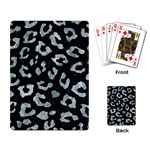 SKIN5 BLACK MARBLE & ICE CRYSTALS Playing Card