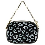 SKIN5 BLACK MARBLE & ICE CRYSTALS Chain Purses (Two Sides)