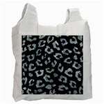 SKIN5 BLACK MARBLE & ICE CRYSTALS Recycle Bag (One Side)