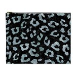 SKIN5 BLACK MARBLE & ICE CRYSTALS Cosmetic Bag (XL)