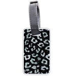 SKIN5 BLACK MARBLE & ICE CRYSTALS Luggage Tags (Two Sides)