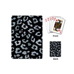 SKIN5 BLACK MARBLE & ICE CRYSTALS Playing Cards (Mini)