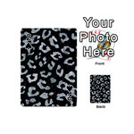 SKIN5 BLACK MARBLE & ICE CRYSTALS Playing Cards 54 (Mini)