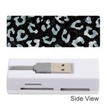 SKIN5 BLACK MARBLE & ICE CRYSTALS Memory Card Reader (Stick)