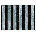 STRIPES1 BLACK MARBLE & ICE CRYSTALS Samsung Galaxy Tab 7  P1000 Flip Case