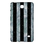 STRIPES1 BLACK MARBLE & ICE CRYSTALS Samsung Galaxy Tab 4 (7 ) Hardshell Case