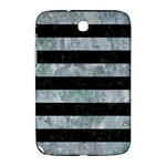 STRIPES2 BLACK MARBLE & ICE CRYSTALS Samsung Galaxy Note 8.0 N5100 Hardshell Case