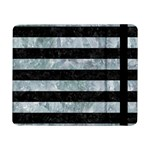 STRIPES2 BLACK MARBLE & ICE CRYSTALS Samsung Galaxy Tab Pro 8.4  Flip Case