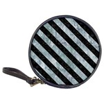 STRIPES3 BLACK MARBLE & ICE CRYSTALS Classic 20-CD Wallets