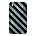 STRIPES3 BLACK MARBLE & ICE CRYSTALS iPhone 3S/3GS