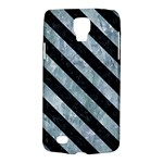 STRIPES3 BLACK MARBLE & ICE CRYSTALS Galaxy S4 Active