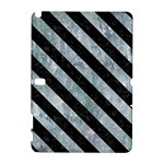 STRIPES3 BLACK MARBLE & ICE CRYSTALS Galaxy Note 1