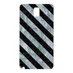STRIPES3 BLACK MARBLE & ICE CRYSTALS Samsung Galaxy Note 3 N9005 Hardshell Back Case